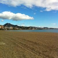 Foto tomada en Playa de La Malagueta por José Manuel N. el 1/1/2013