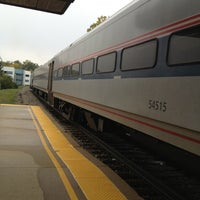 Photo taken at Amtrak - Ann Arbor Station (ARB) by Ahmed A. on 10/13/2012