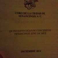 "Photo taken at Auditorio municipal ""Maestro Petronilo Monroy"" by Estefania V. on 12/21/2014"
