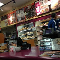 Photo taken at Dunkin Donuts by Sean on 1/7/2013