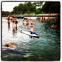 Photo taken at Barton Springs Spillway by Bruce B. on 6/14/2013