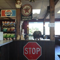 Photo taken at Rustys Bar-B-Q by Trey on 9/19/2012