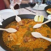Photo taken at Restaurant Mateu by Matt A. on 7/8/2017