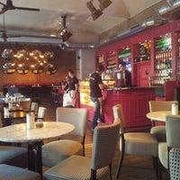 Photo taken at Cafe~Cafe by Mikhail K. on 10/8/2012