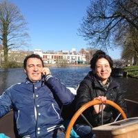 Photo taken at Op De Boot Door De Stad by Hein L. on 4/20/2013