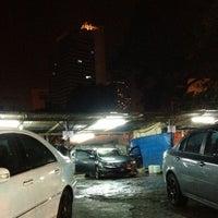 Photo taken at Car Wash Kampung Baru by Sam K. on 10/23/2012