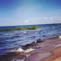 Photo taken at Lake Ladoga by Дмитрий Ш. on 7/13/2013