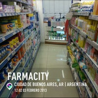 Photo taken at Farmacity by Lionel Z. on 2/3/2013