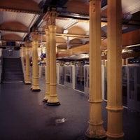 Photo taken at Métro Gare de Lyon [1,14] by Mikhail S. on 10/28/2013