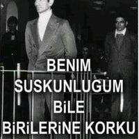 Photo taken at Atatürk Bulvarı by Emrah G. on 2/6/2017
