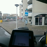 Photo taken at Busstation Van Knobelsdorffplein by Eelke-H. H. on 2/26/2017