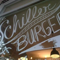 Photo taken at SchillerBurger by lau v. on 10/5/2012