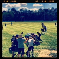 Photo taken at Sunnybank Rugby Union Club by Kevin F. on 12/6/2013