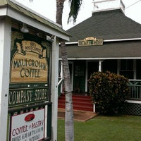 Photo taken at MauiGrown Coffee Company Store by Kevin on 11/21/2013