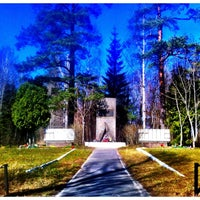 Photo taken at Мемориал Шалаш by Stepan E. on 5/3/2013