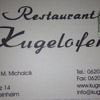 Photo taken at Restaurant Kugelofen by Zaid M. on 8/22/2013