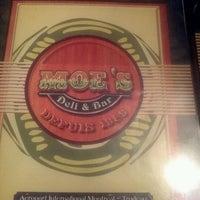 Photo taken at Moe's Deli & Bar by Dirk V. on 1/11/2013