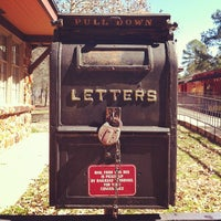 Photo taken at Texas State Railroad Rusk Depot by Jo-x C. on 2/17/2013