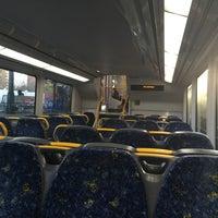 Photo taken at Strathfield Station (Platforms 7 & 8) by DJ P. on 8/20/2016