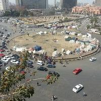 Photo taken at Tahrir Square by Ahmed &. on 3/3/2013