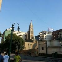 Photo taken at Kasr El Dobara Evangelican Church by Ahmed &. on 9/14/2012