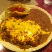 Photo taken at Jacala Mexican Restaurant by Matthew M. on 10/5/2012