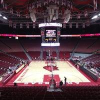 Photo taken at Bud Walton Arena by Adam B. on 11/30/2012
