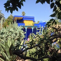 Photo taken at Jardin de Majorelle by Christian on 10/1/2013