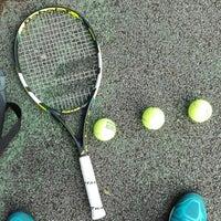 Photo taken at Tennis Nieuwe stad by Shaun M. on 7/13/2017