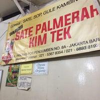 Photo taken at Sate Kambing Kim Tek by Carpe D. on 12/13/2015