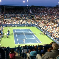 Photo prise au Western & Southern Tennis Media Center par Patrice W. le8/17/2013