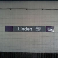 Photo taken at CTA - Linden by Joanna F. on 8/26/2011