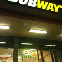 Photo taken at SUBWAY by Miguel C. on 1/28/2013