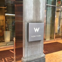 Photo taken at W New York by Kevin J. on 3/8/2013
