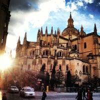 Photo taken at Catedral de Segovia by Mario G. on 2/9/2013