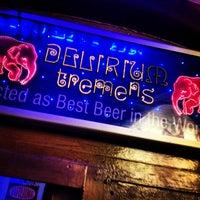 Photo taken at Delirium Café by Mario G. on 1/6/2013