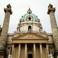 2/5/2013 tarihinde Mario G.ziyaretçi tarafından Karlskirche'de çekilen fotoğraf