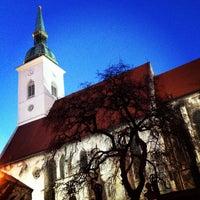 2/3/2013 tarihinde Mario G.ziyaretçi tarafından Katedrála svätého Martina'de çekilen fotoğraf