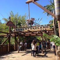 Photo taken at Adventureland by Tracey J. on 10/29/2012
