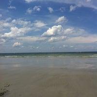 Photo taken at Coffin Beach by Kibbie on 7/6/2013