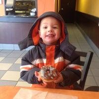 Photo taken at Dunkin Donuts by Kristin Warrick on 1/23/2013