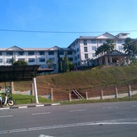 Photo taken at MRSM TUN GHAZALI SHAFIE by Dang seri wangi on 3/20/2013