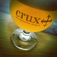 Photo taken at Crux Fermentation Project by Beer B. on 5/19/2013