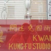 Photo taken at Kwan's Kung Fu Studio by Greg M. on 3/25/2014