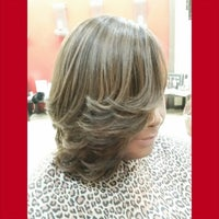 Photo taken at Tangibles Salon & Beautique by Melissa J. on 3/6/2015