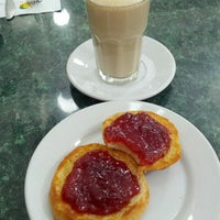 Photo taken at Los Bisquets Bisquets Obregón by Luis E. on 5/9/2013