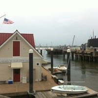 Photo taken at Charleston Harbor Resort & Marina by Ashley C. on 9/29/2012