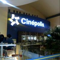 Photo taken at Cinépolis by A.Aracely R. on 11/2/2012