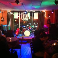 Photo taken at The New Deal Cafe by Lora N. on 3/3/2013