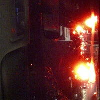Photo taken at Halte TransJakarta Pondok Pinang by Eva E. on 12/21/2012